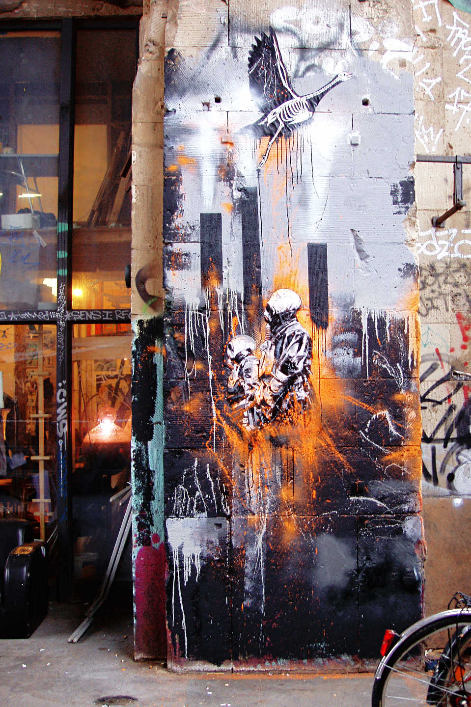 Street Art at Tacheles in Berlin by Plotbot KEN