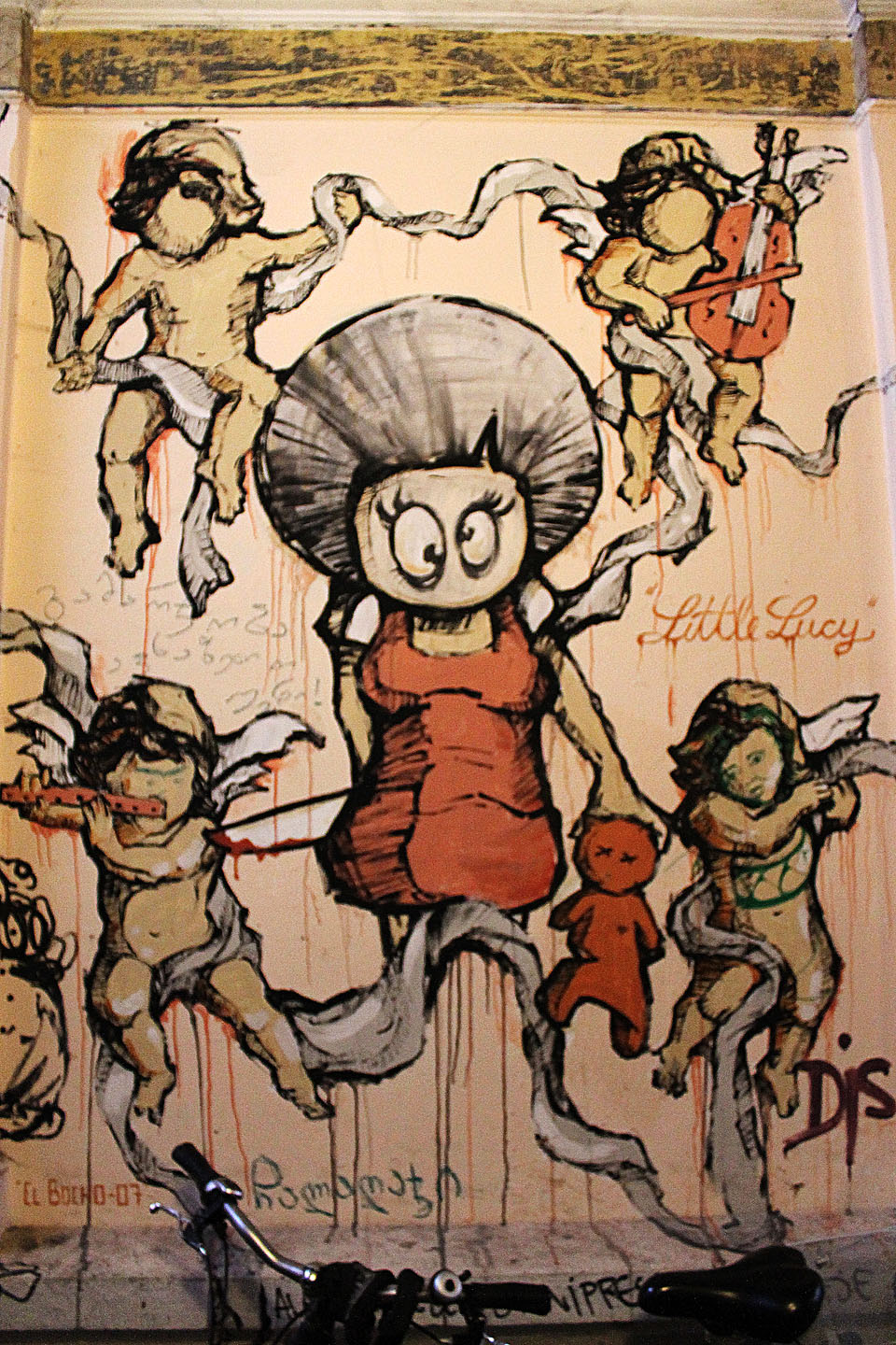El Bocho - Little Lucy Painting