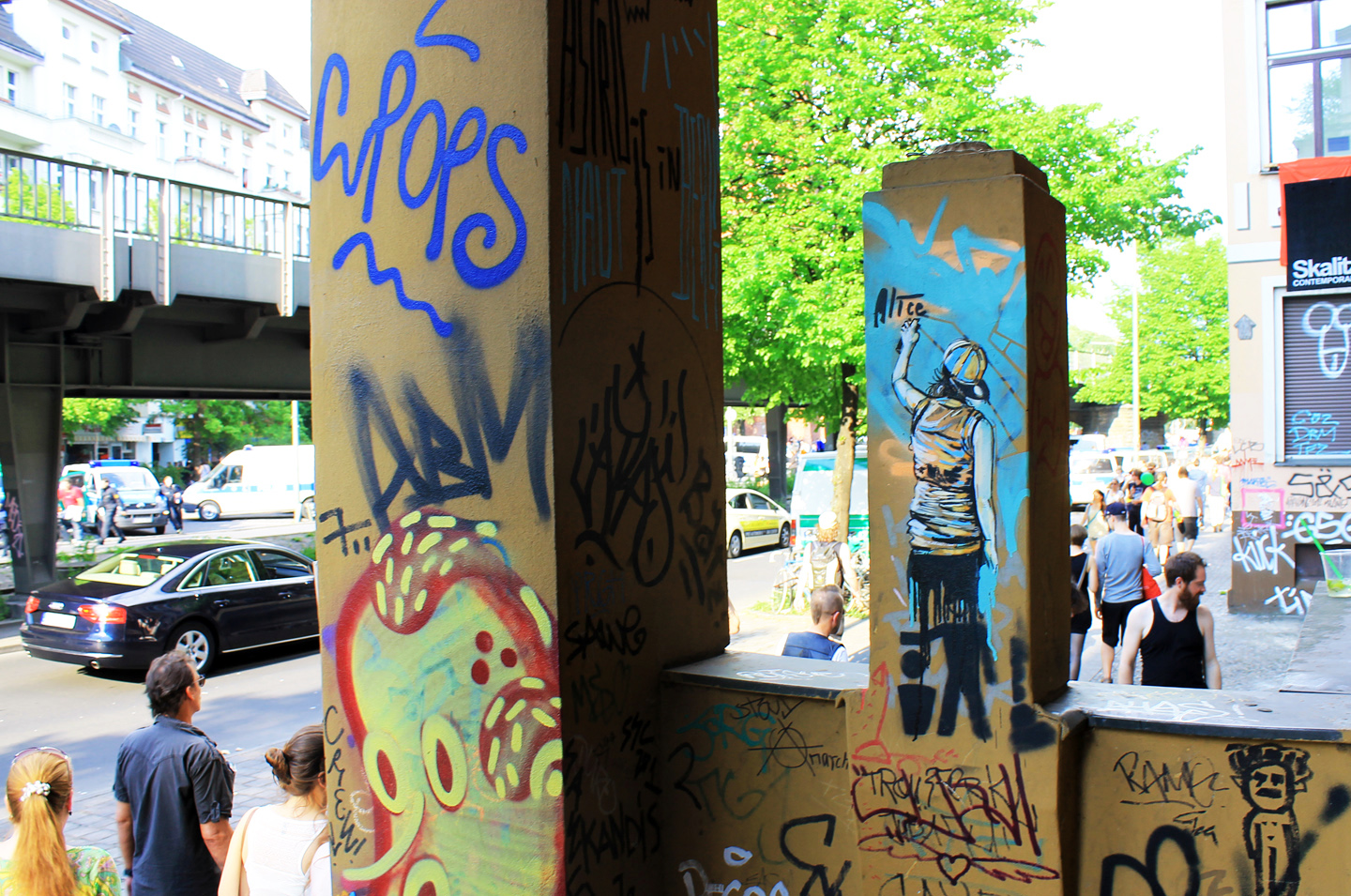 Street Artist: Alice Pasquini - Sprayer Skalitzers - Fotos: Street Art Berlin
