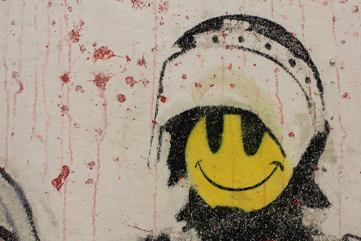 Street Art Berlin: Banksy at Bethanien - Fotos and Report by Street Art Berlin