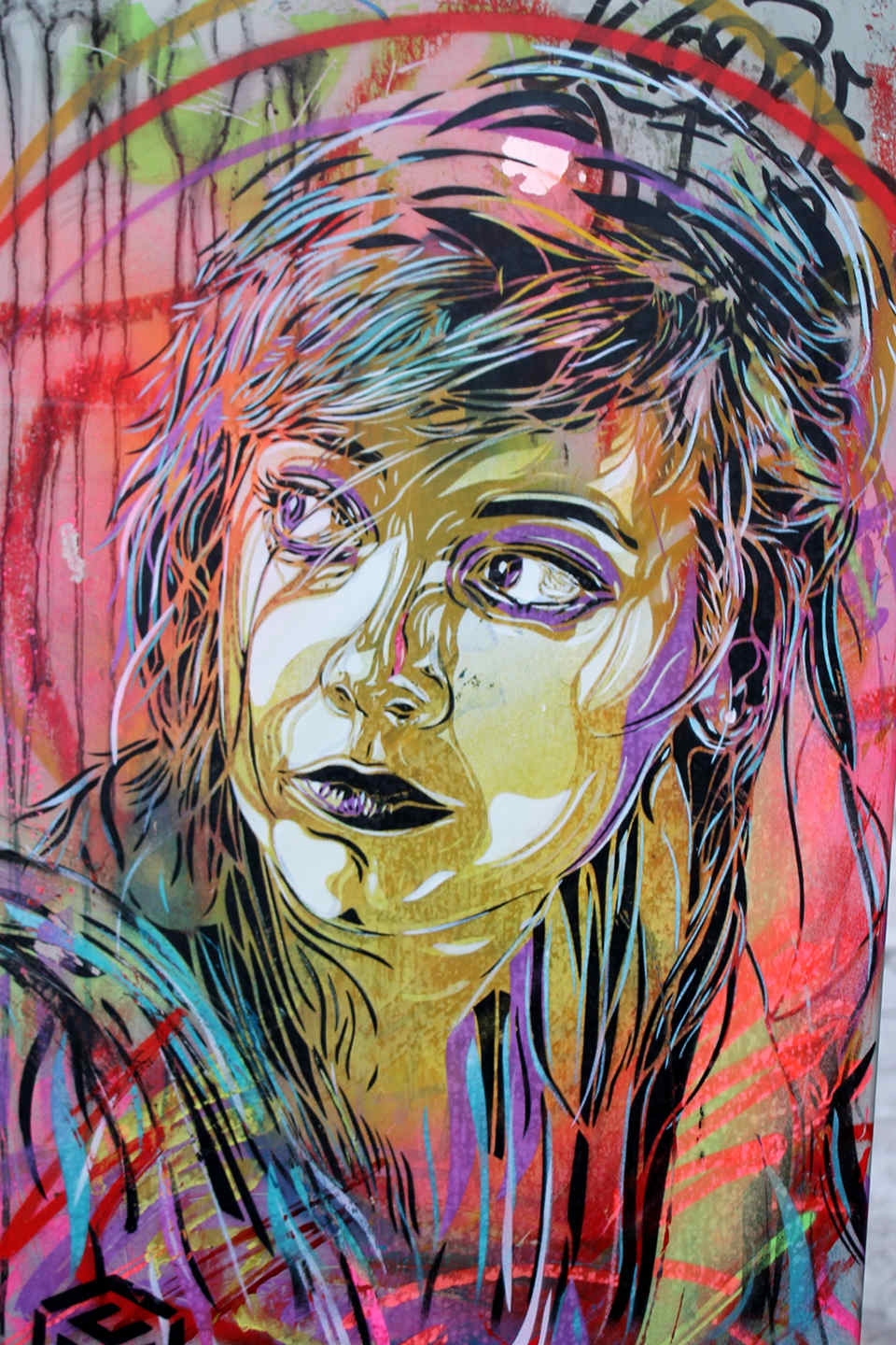 C215 - Street Art Berlin - Close UP