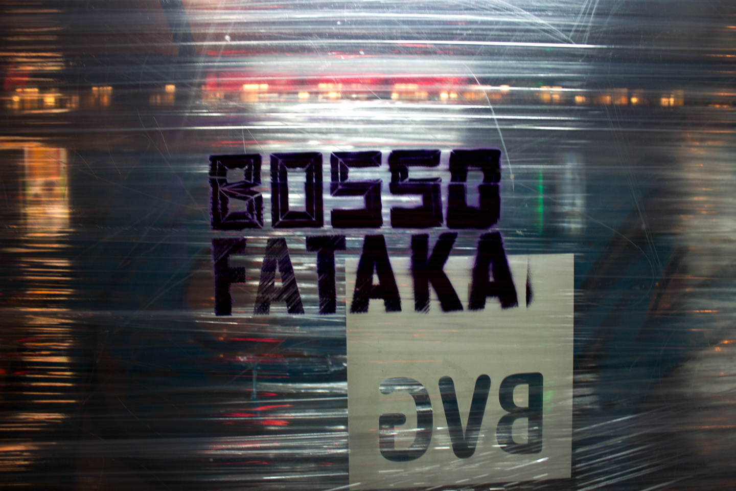 Instalation by Berlin based Street Art Team Bosso Fataka