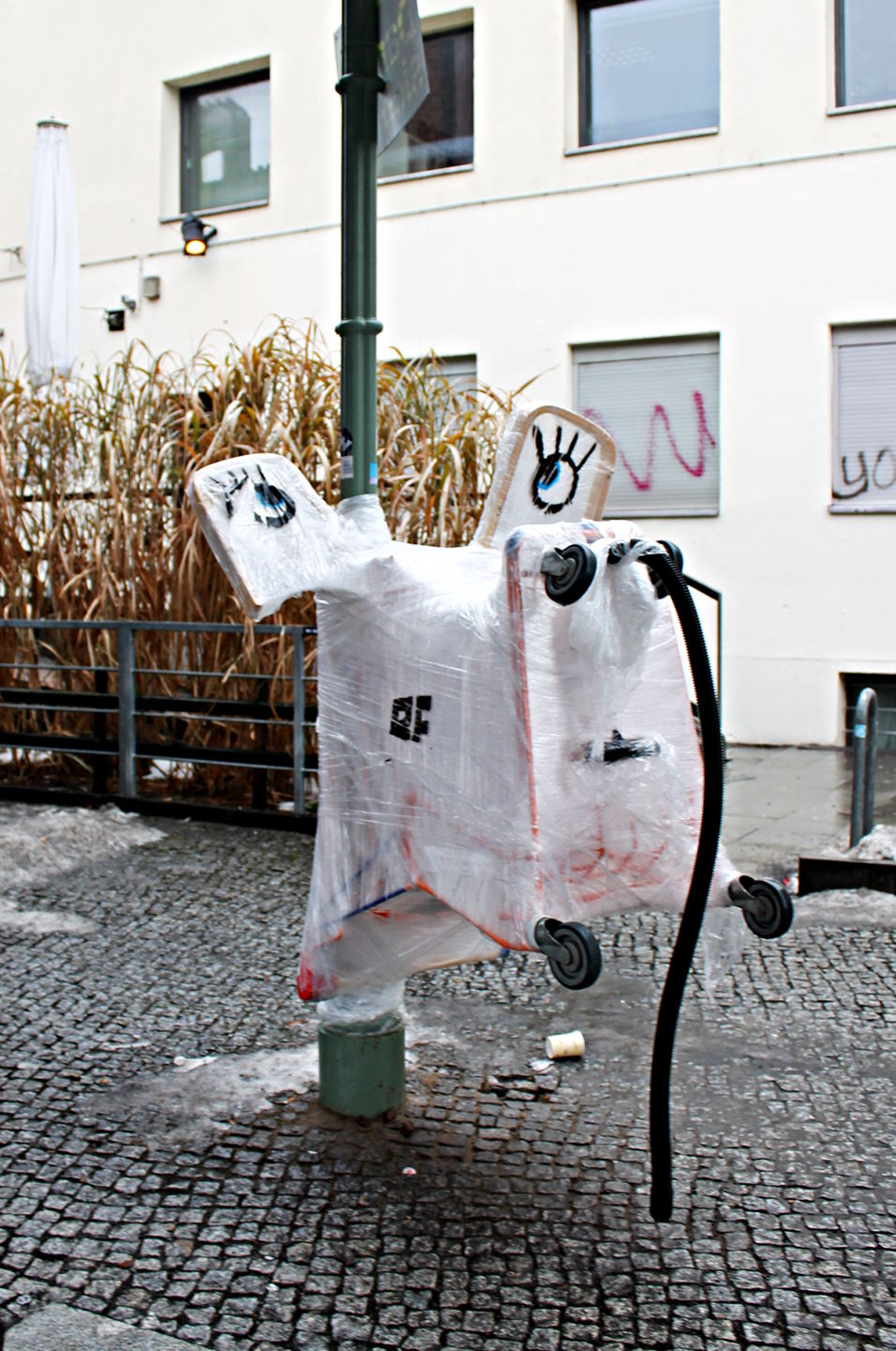 Elephant Instalation by Berlin based Street Art Team Bosso Fataka