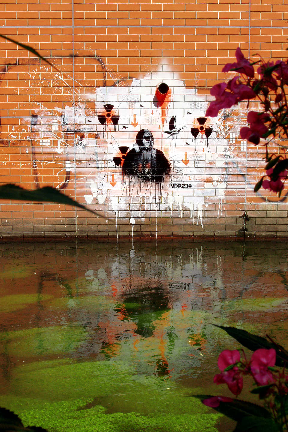 Street Art at the Panke in Berlin by Plotbot KEN