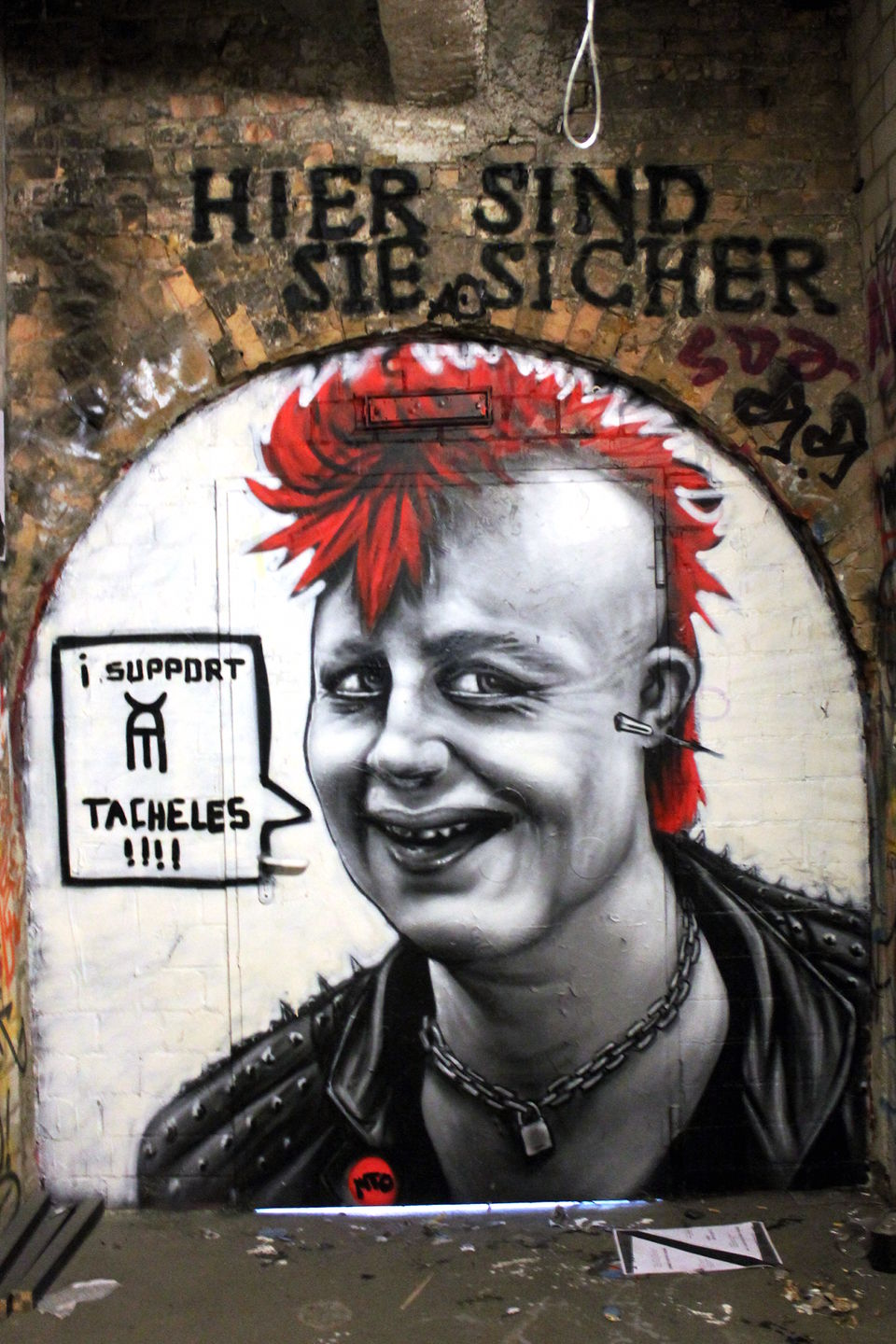 When Angie was a Punkrock Girl made by Belin based Street Artist MTO