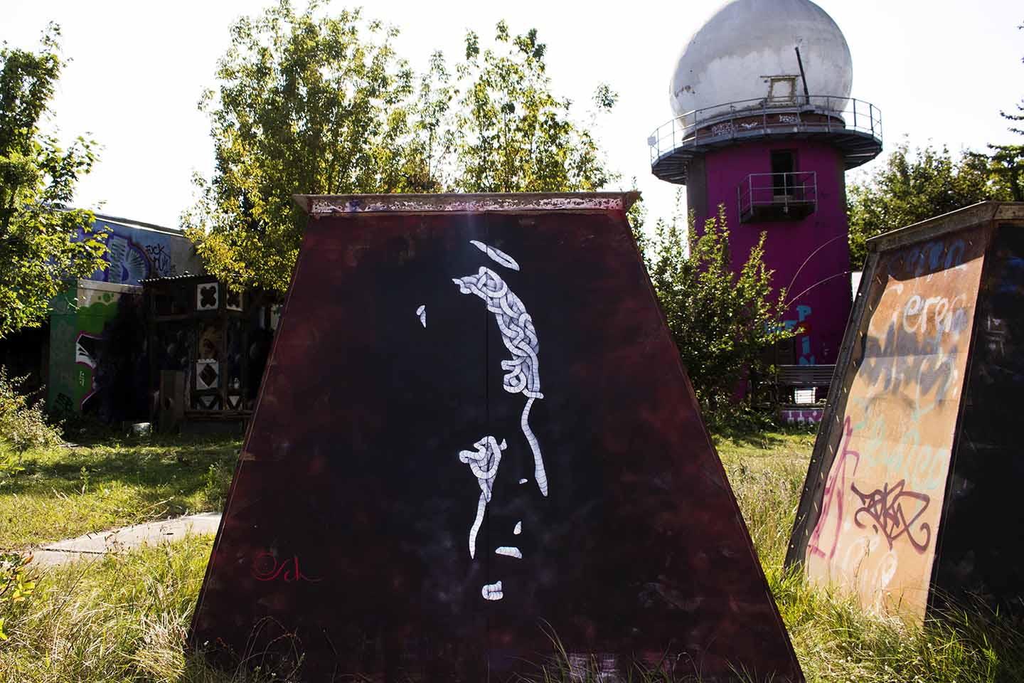 "Otto Schade aka Osch: The New Godfather of the Street"" on Berlin Teufelsberg"