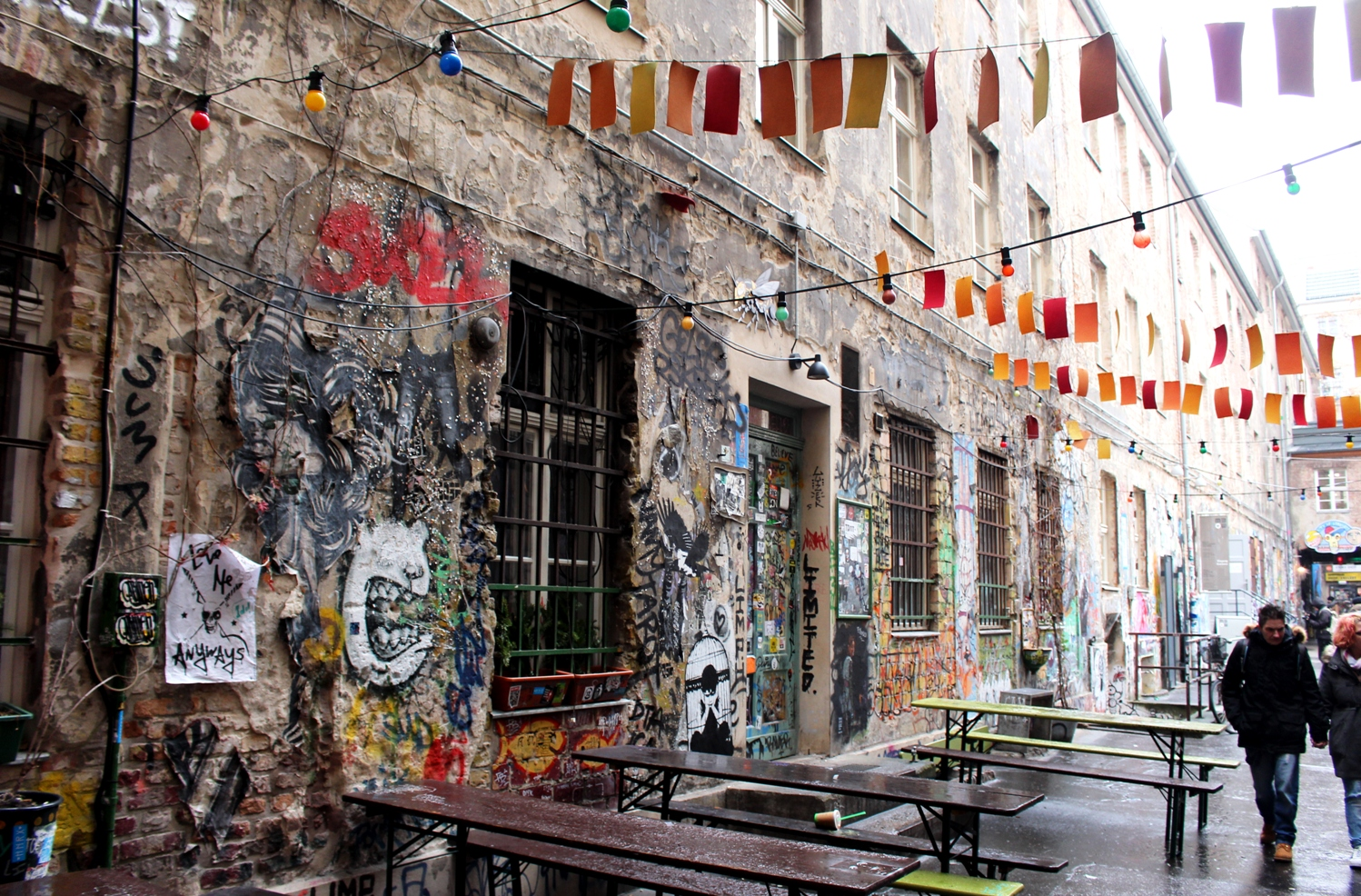 Haus Schwarzenberg More than a Streetart Hotspot in