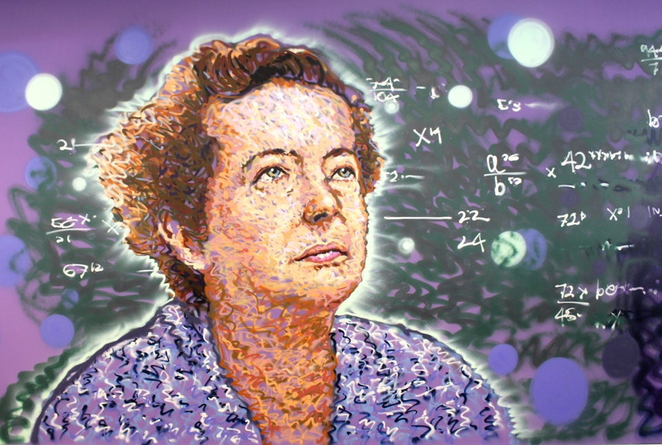 Maria Goeppert-Mayer, one of two women who got the Nobel prize in physics