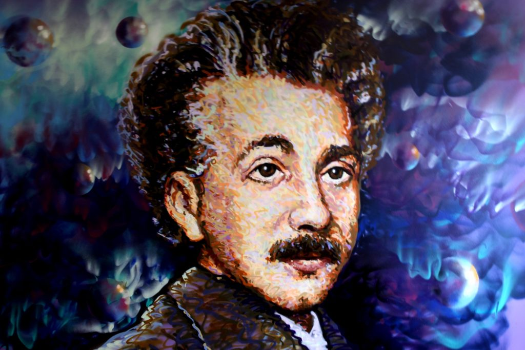 Albert Einstein by Jimmy C