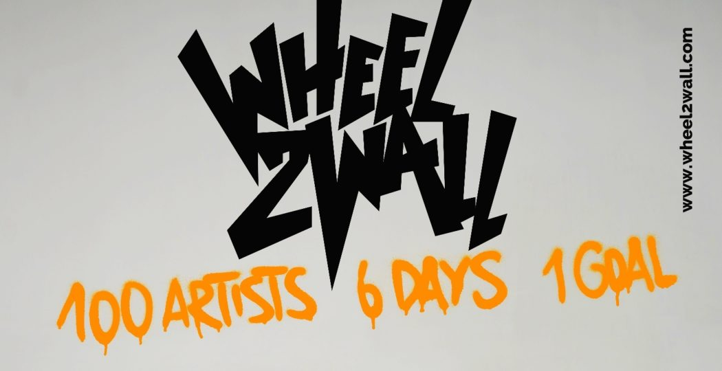 Wheel2wall exhibition