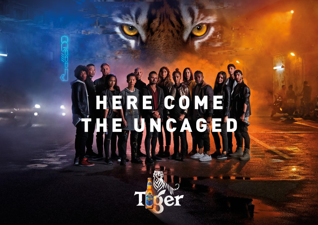 Tiger Beer Uncaged